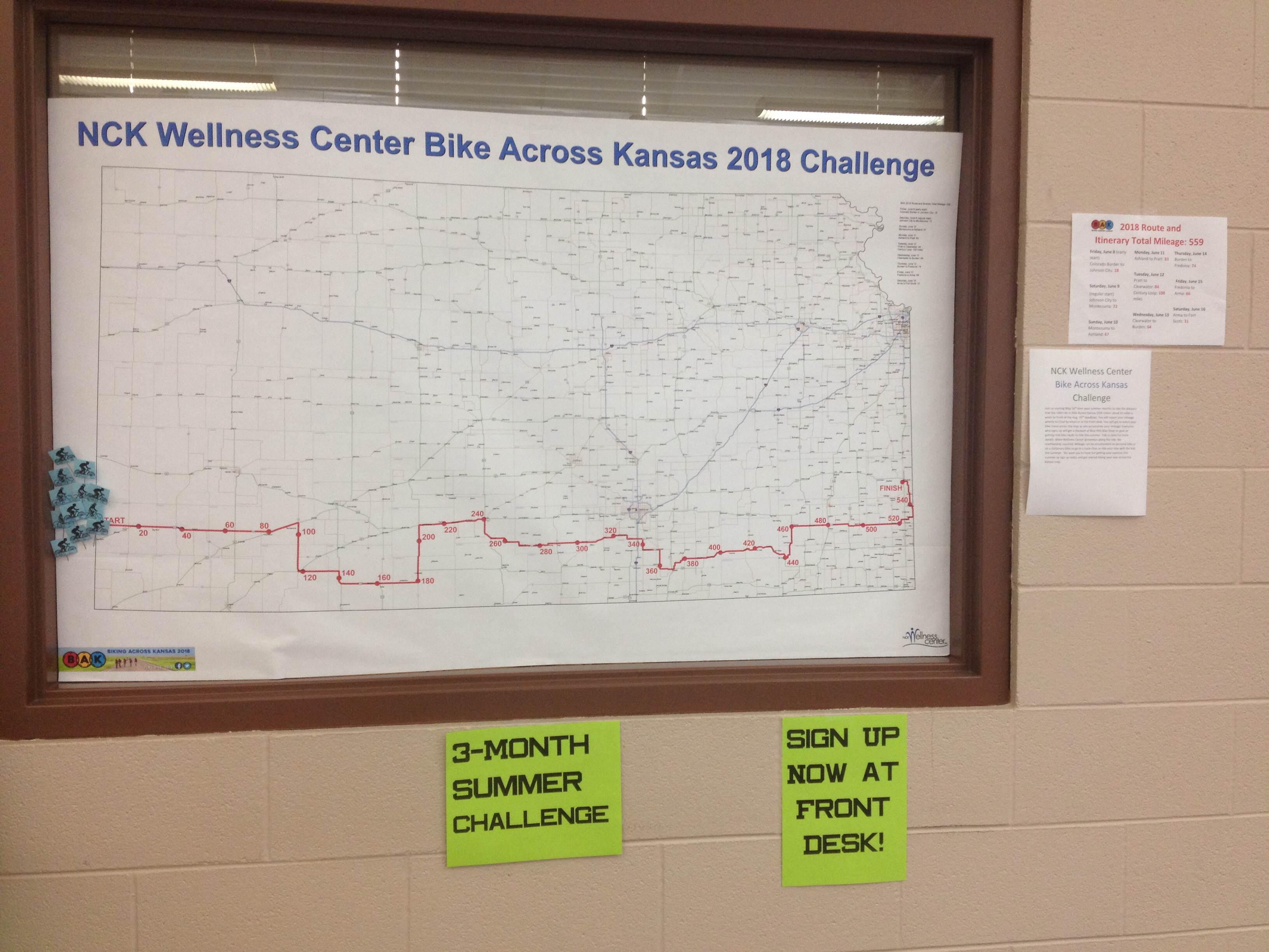 Summer Challenge Bike Across Ks